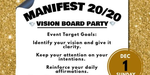 Manifest 20/20 Vision Board Party