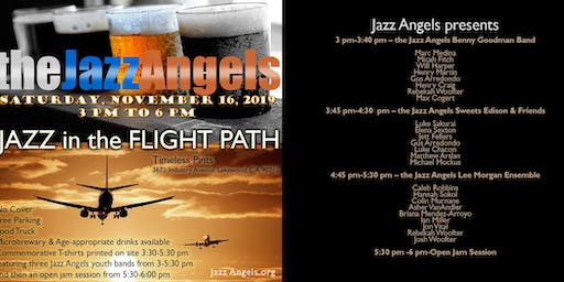 Jazz in the Flight Path at Timeless Pints, Near the Long Beach Airport