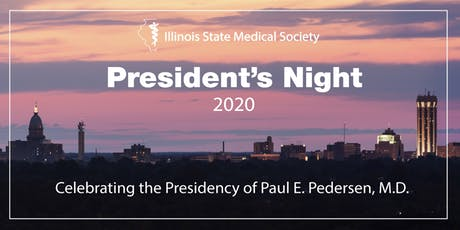 ISMS President's Night 2020 tickets