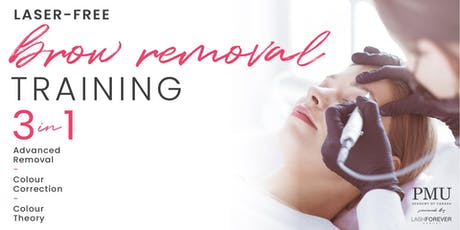 Brow Removal and Colour Correction Training tickets