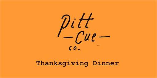 Pitt Cue Co. Thanksgiving Banquet