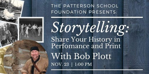 Writing Workshop | Storytelling: Sharing History in Performance & Print