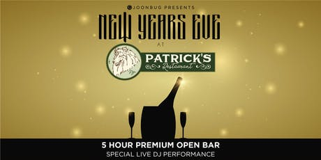 Patrick's Times Square New Years Eve 2020 Party tickets