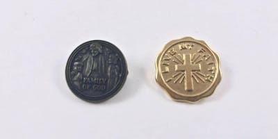 Family of God religious medal program