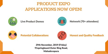 Product Expo tickets