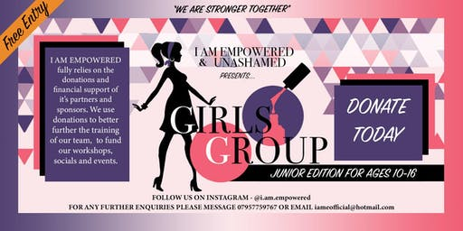 GIRLS GROUP- Junior Edition
