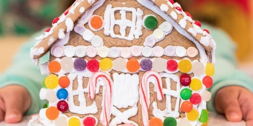 Kids Gingerbread House Decorating