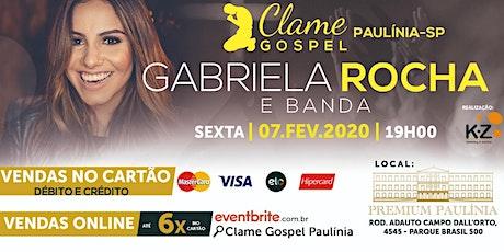 CLAME GOSPEL PAULINIA ingressos