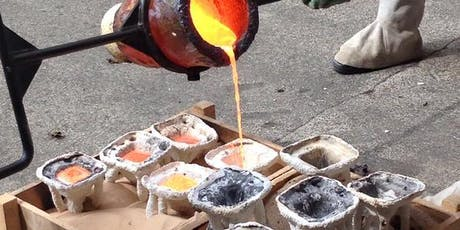 Bronze Casting Course (11, 12, 13, 18, 19 & 20th Sept 2020) tickets