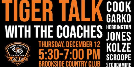 Tiger Talk with the Coaches
