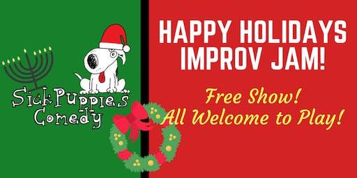 Sick Puppies Free Holiday Improv Jam