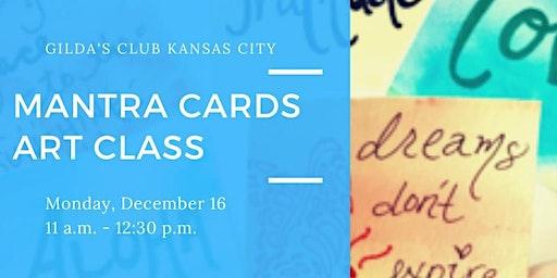 MANTRA CARDS ART CLASS
