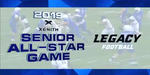 XENITH SENIOR ALL STAR FOOTBALL AT LEGACY  LIVE ON FOX SPORTS