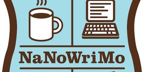 NaNoWriMo - Come Write In tickets