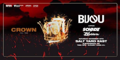 BIJOU: The Crown Tour feat SCHADE and BLOSSOM (Albuquerque)