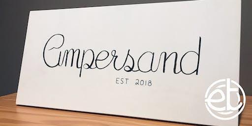 Workshop: Brush Lettering - Create a Family Name Sign