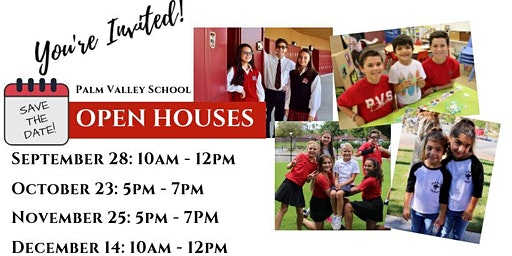 Palm Valley School's Open House