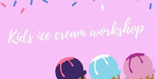 Tuesday Ice Cream Making Class for the Kids!