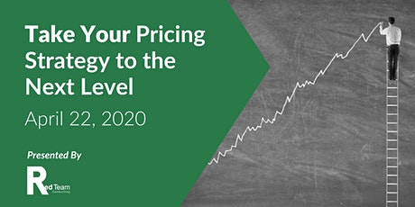 Take Your Pricing Strategy to the Next Level tickets