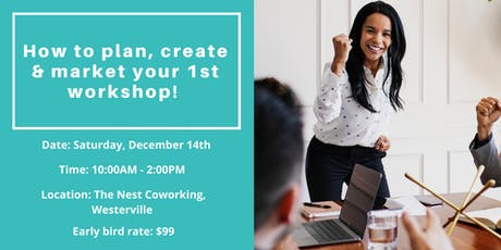 How to Plan, Create &  Market Your 1st Workshop tickets