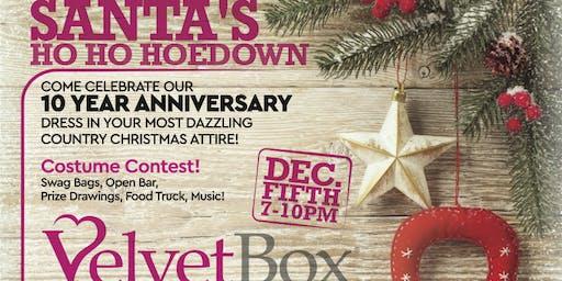 Santa's Ho Ho Hoedown 10 Year Anniversary