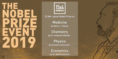 15x4 Talks: 4 talks about Nobel Prizes 2019