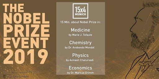 15x4 Talks: 4 talks about Nobel Prizes 2019