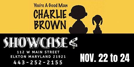You're A Good Man Charlie Brown at Showcase on Main tickets