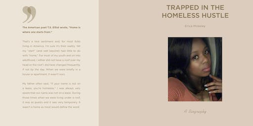 Book Release & Signing Party Trapped in the Homeless Hustle The New Face Of Homelessness