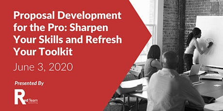 Proposal Development: Sharpen Your Skills and Refresh Your Toolkit tickets