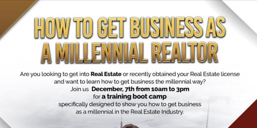 How to Get Business as a Millennial Realtor