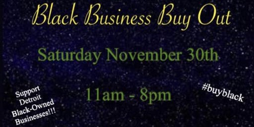 First Annual Black Business Buyout