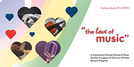 The Love of Music Fundraising Concert tickets