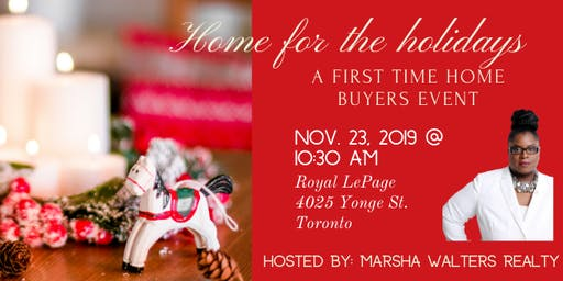 """""""Home"""" for the holidays / a first time homebuyers event"""