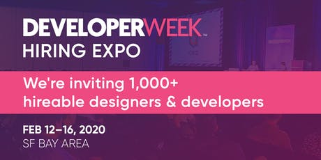 DeveloperWeek 2020 Hiring Expo tickets