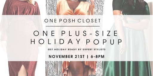 One Plus Size Holiday Popup