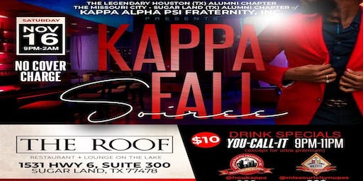 KAΨ presents THE KAPPA FALL SOIRÉE @ THE ROOF on the Lake in SUGAR LAND