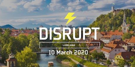 Disrupt HR Ljubljana tickets