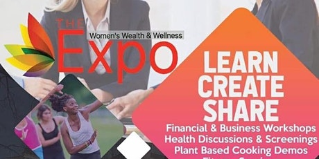 The Women's Wealth and Wellness Expo tickets