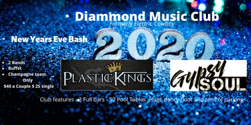 Plastic Kings NYE Bash with Gypsy Soul