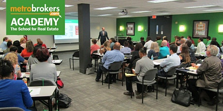 Real Estate Pre-License Course - Forsyth Day Class tickets