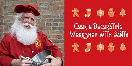 Cookie Decorating Workshop with Santa (Dec. 17th)