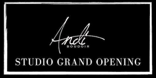 Andi Boudoir Studio Grand Opening!