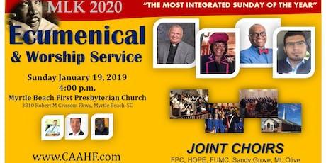 2020 MLK Worship & Unity Service tickets