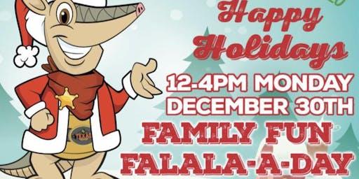 Texas Roadhouse Holiday Family FaLaLa A Day
