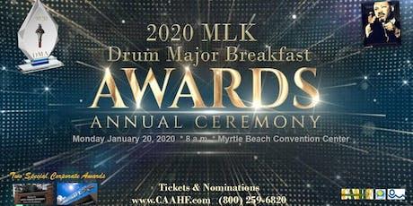 2020 MLK Drum Major Awards & Breakfast tickets