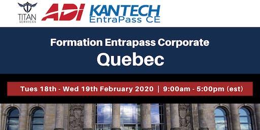 Formation Entrapass Corporate à Québec - ADI