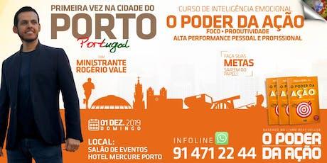 Curso de Inteligência Emocional - O Poder da Ação no Porto bilhetes