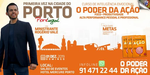 Curso de Inteligência Emocional - O Poder da Ação no Porto