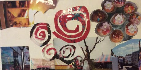 Recycled Art Workshops; Make Gift Pic for Xmas/ Still Life Draw or Mix Media Collage tickets